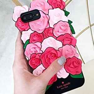 Kate Spade Silicone 3D Iphone 7 Plus case
